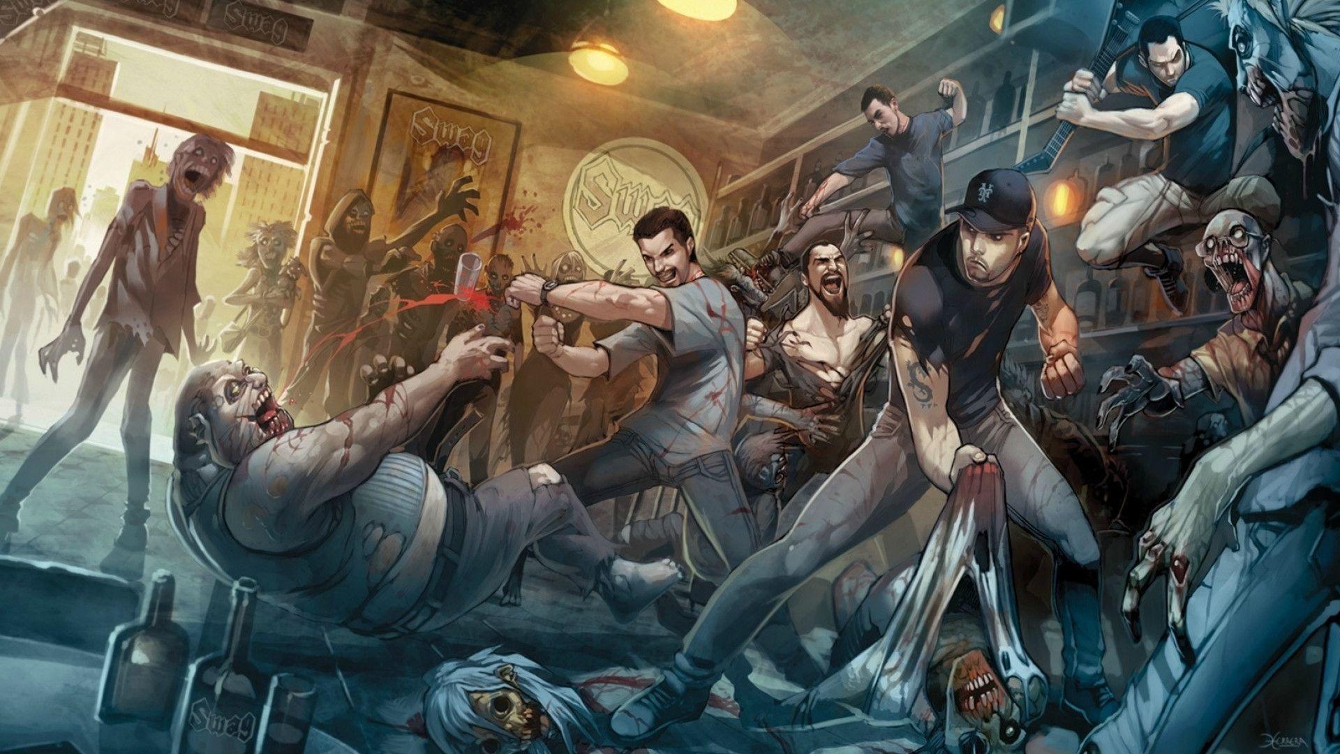 zombie stock trader warriors