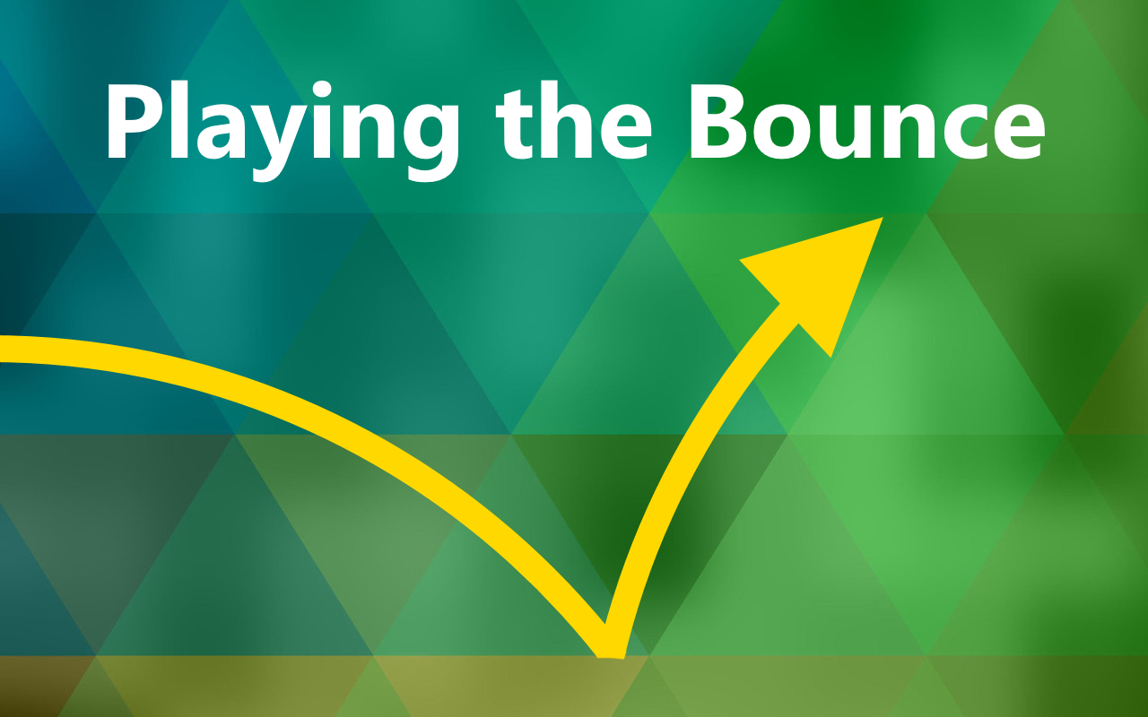 Bounce setups offer excellent opportunities for success when trading stocks online.