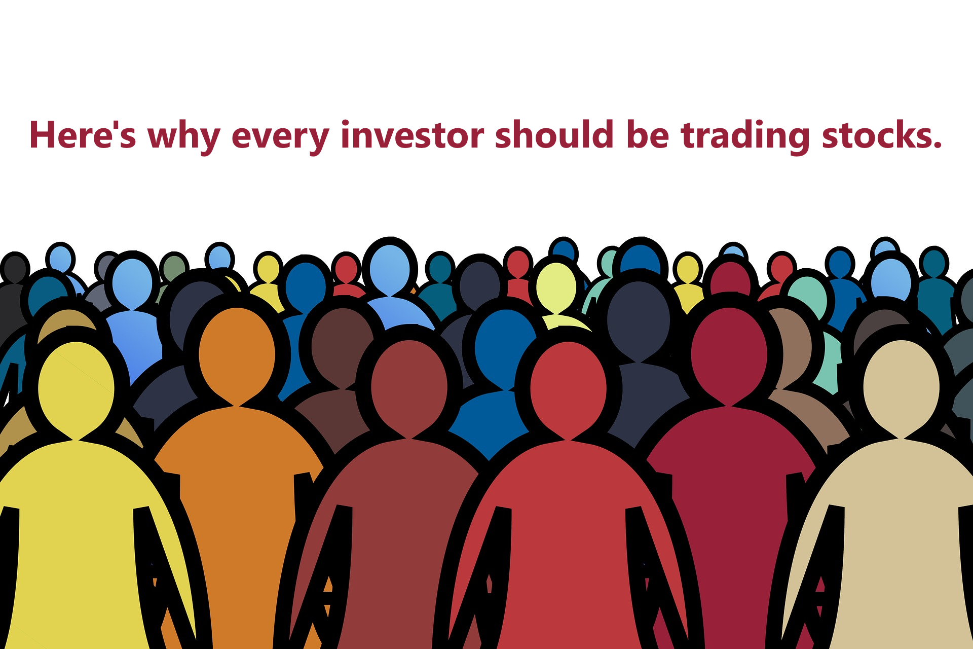 The average investor can gain major benefits by actively trading stocks online.