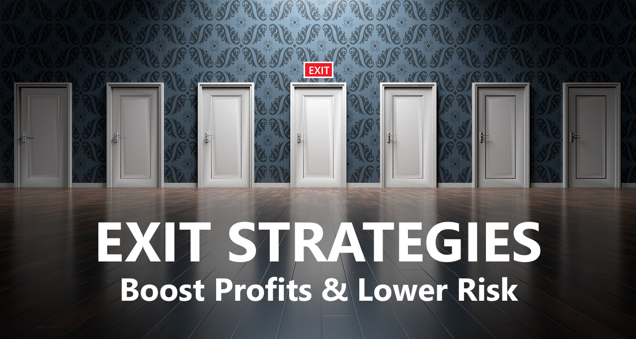 Exit strategies are a necessary part of any good online stock trading plan capable of boosting profits and lowering risk.