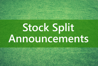 When trading stock splits online, stock traders use important information found in corporate stock split press releases.