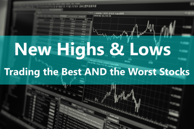 One often overlooked online stock trading skill is the New Highs and New Lows categories of stocks that are very strong and very weak.